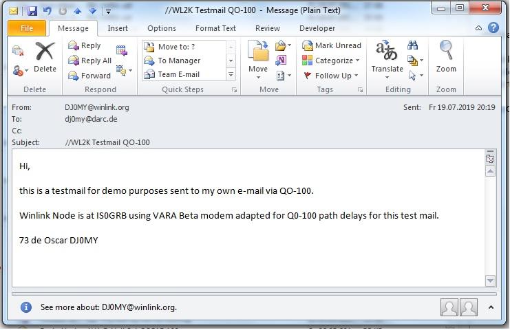 IS0GRB Winlink Server on QO-100 (Dial 10489635 0 USB) - Seite 2
