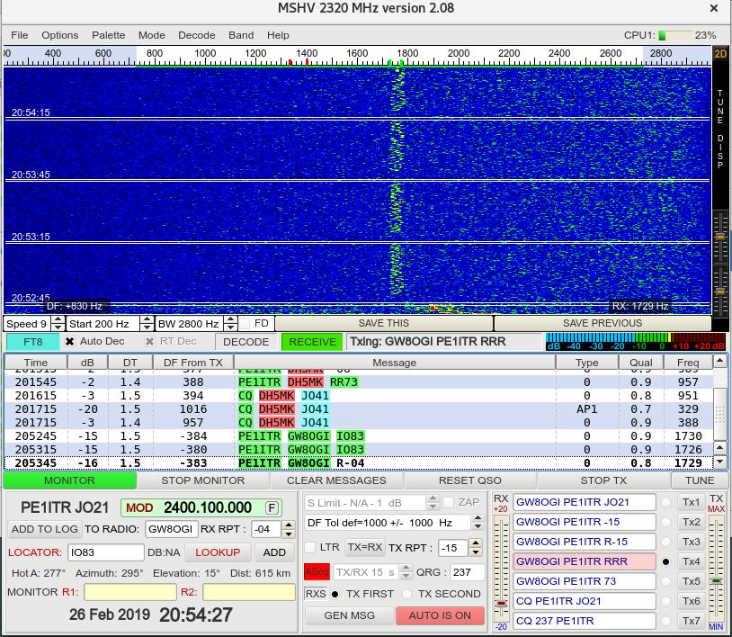 Digital Tests on NB Transponder - Seite 2 - NB Transponder